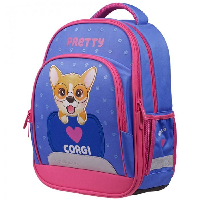 Купить Школьные рюкзаки, Berlingo Flash Ранец облегченный Pretty corgi