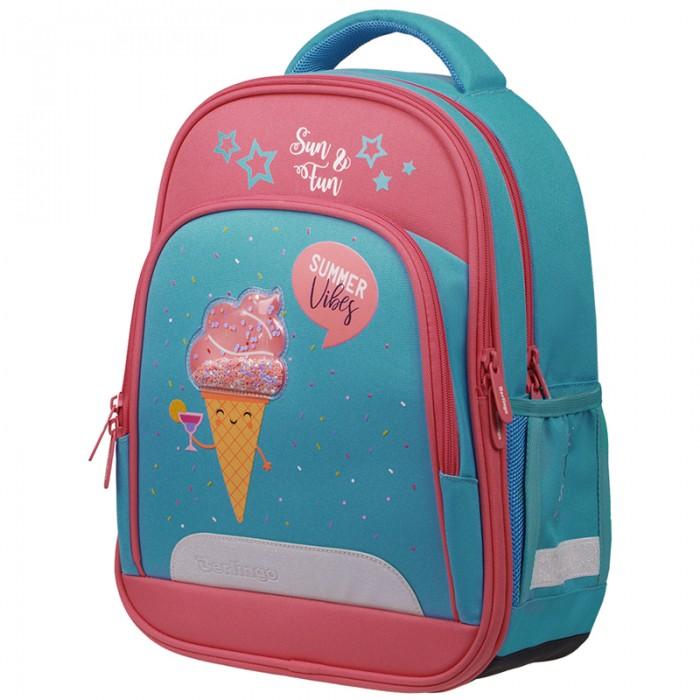 Купить Школьные рюкзаки, Berlingo Flash Ранец облегченный Summer vibes