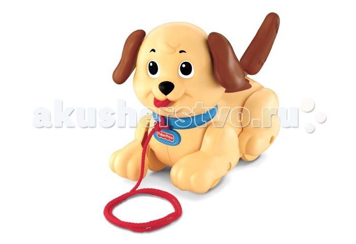 Каталка-игрушка Fisher Price Веселый щенок H9447