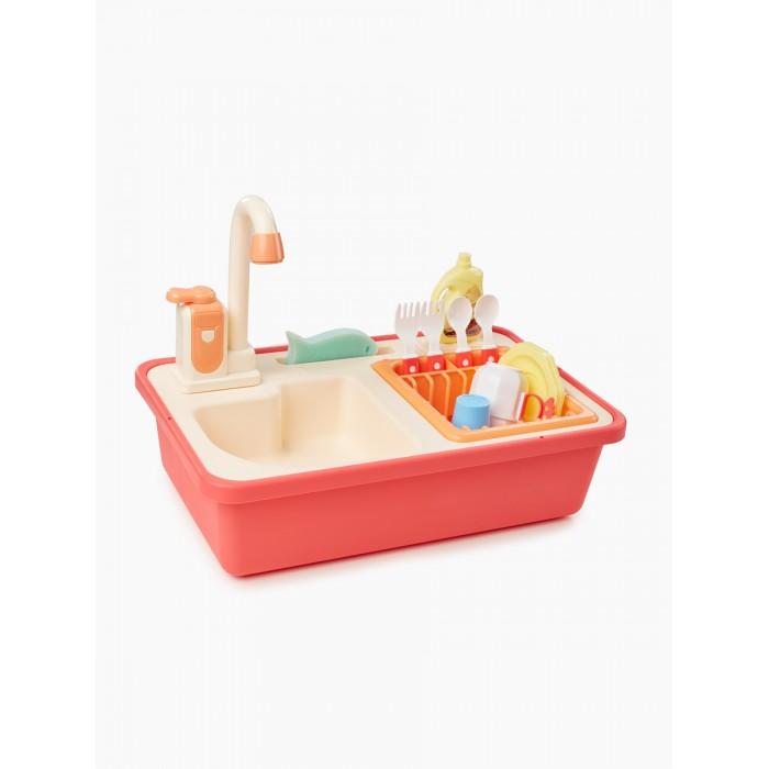 Ролевые игры Happy Baby Набор игрушка-раковина Wash and Play