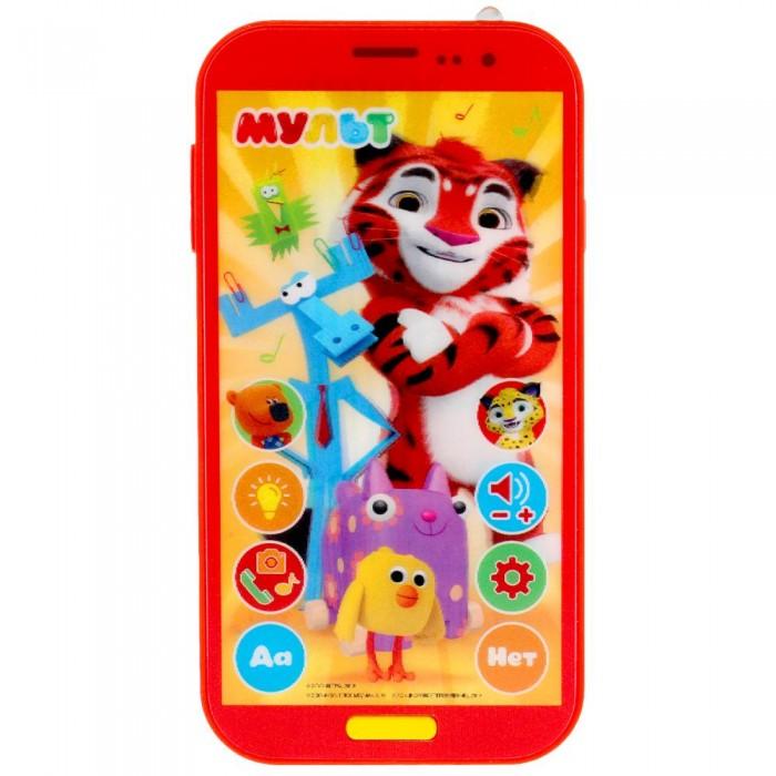 Электронные игрушки Умка Музыкальная игрушка Мой первый телефон Мульт