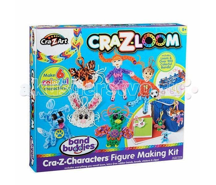 Наборы для творчества Cra-Z-Loom Набор для творчества с резиночками для плетения наборы для творчества cra z loom набор для творчества фигурка обезьянка
