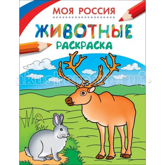 Раскраски Росмэн Моя Россия Животные
