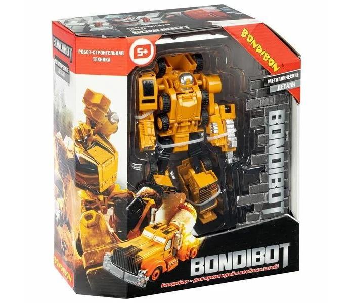 Роботы Bondibon Трансформер Bondibot 2 в 1 робот-автомобильный кран