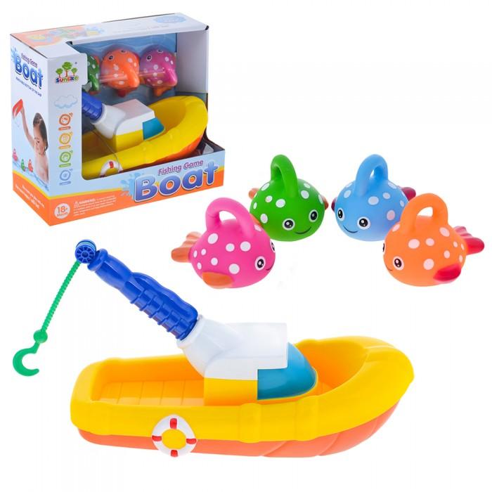 Игрушки для ванны Ural Toys Игрушка для ванны Рыбалка SL87015