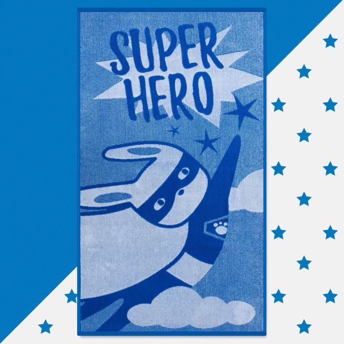 Полотенца Этель Полотенце махровое Super hero 130х70