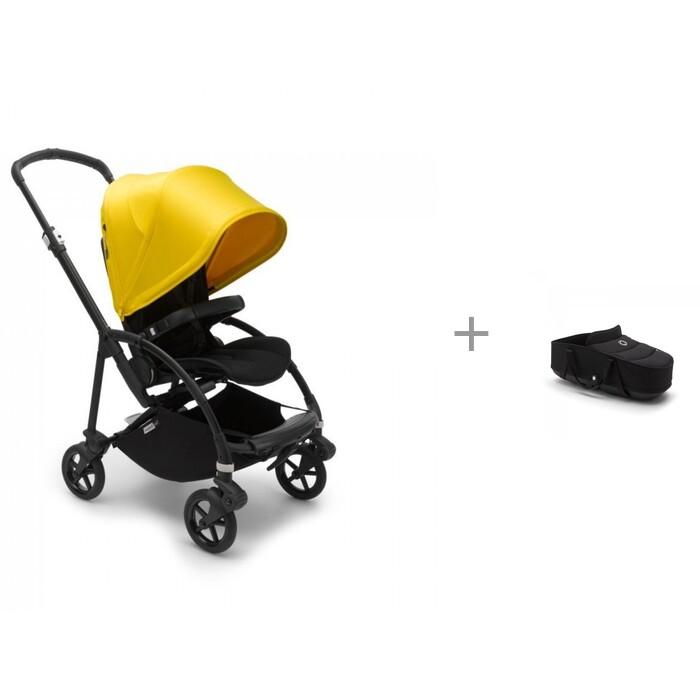 Прогулочная коляска Bugaboo Bee 6 Complete Black и люлька-переноска bassinet complete