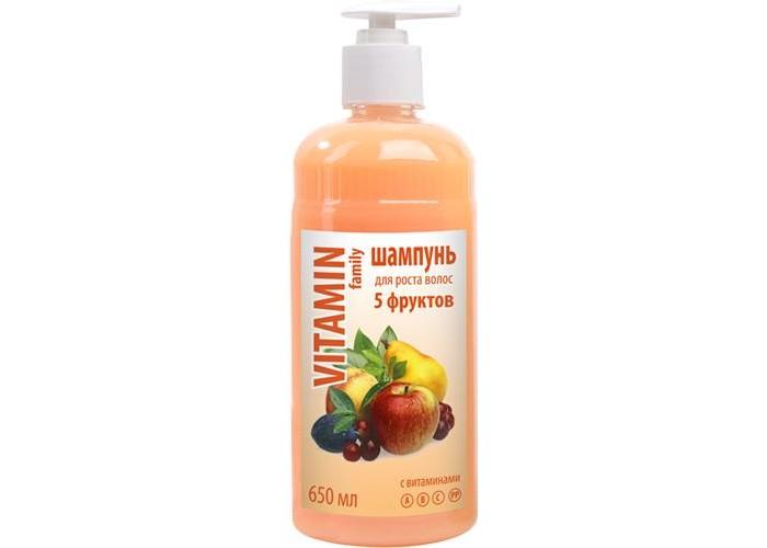 Косметика для мамы Vitamin Шампунь 5 фруктов 650 мл