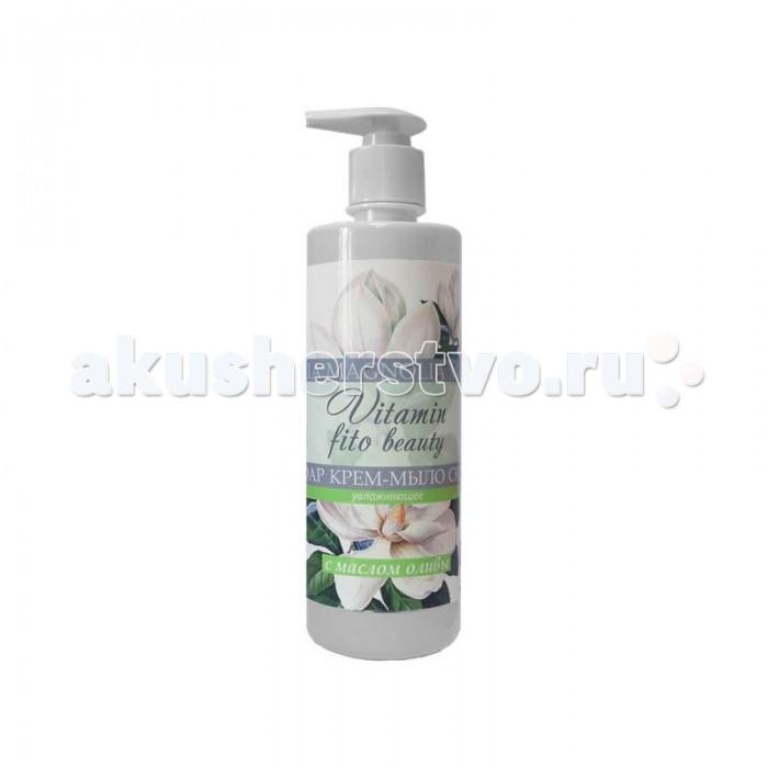 Косметика для мамы Vitamin Крем-мыло Магнолия и масло оливы 500 мл бытовая химия xaax ополаскиватель для посудомоечной машины 500 мл