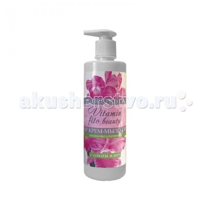 Косметика для мамы Vitamin Крем-мыло Орхидея и сок алоэ 500 мл