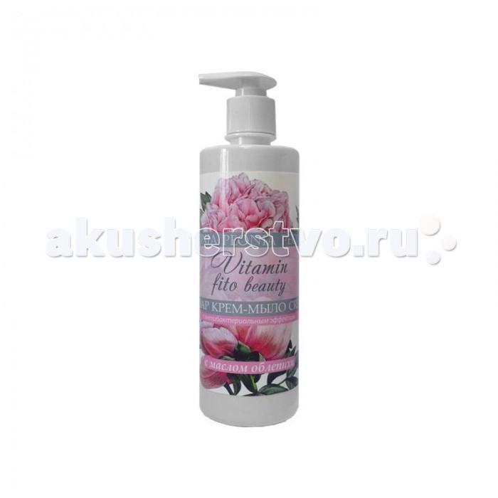 Косметика для мамы Vitamin Крем-мыло Пион и масло облепихи 500 мл sea of spa крем морковный универсальный 500 мл