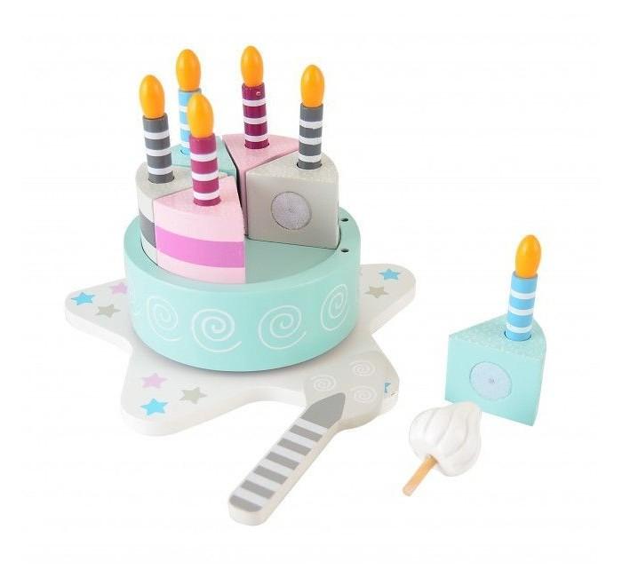 Деревянная игрушка Magni Торт со свечками в виде цифр от 0 до 9