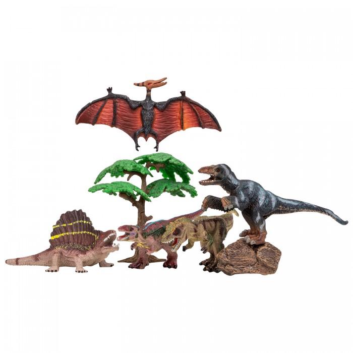 Купить Игровые фигурки, Masai Mara Набор Динозавры и драконы для детей Мир динозавров (7 предметов)