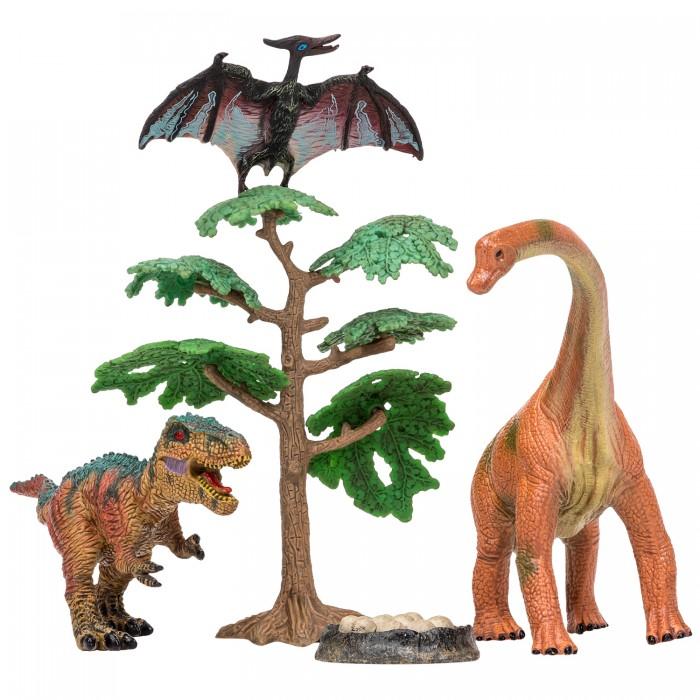 Купить Игровые фигурки, Masai Mara Набор Динозавры и драконы для детей Мир динозавров (5 предметов) MM206-020