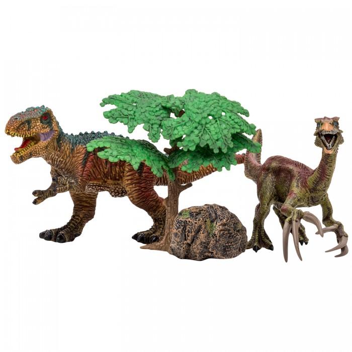 Купить Игровые фигурки, Masai Mara Набор Динозавры и драконы для детей Мир динозавров (4 предмета) MM206-018
