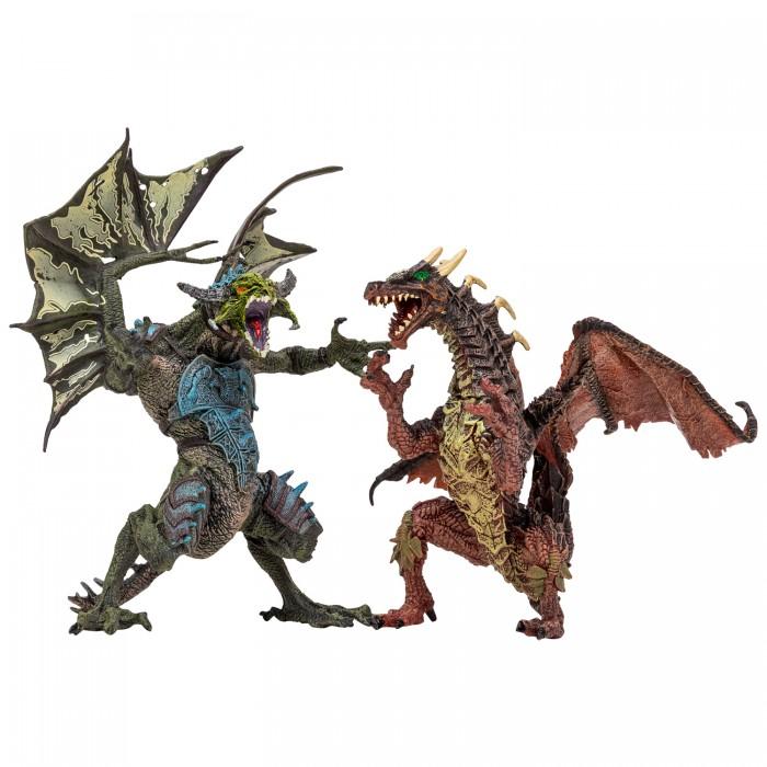 Купить Игровые фигурки, Masai Mara Набор Драконы и динозавры для детей Мир драконов (5 предметов)