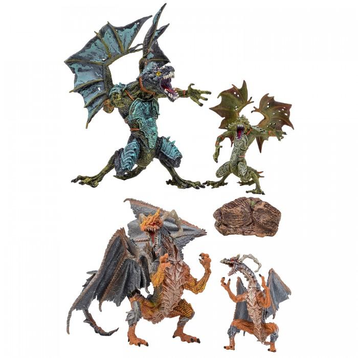 Купить Игровые фигурки, Masai Mara Набор Драконы и динозавры для детей Мир драконов (5 предметов) MM207-002