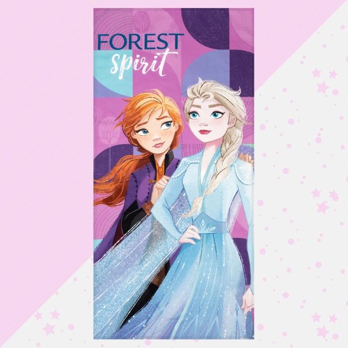 Disney Полотенце Холодное сердце Эльза и Анна 146х70