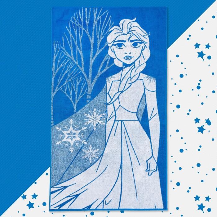 Disney Полотенце махровое Холодное сердце Эльза 130х70