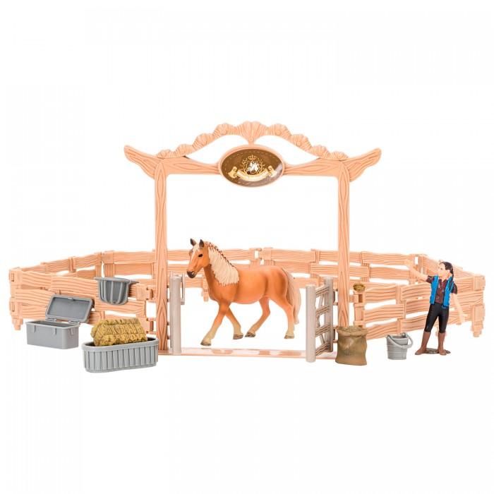 Купить Игровые фигурки, Masai Mara Набор фигурок животных Мир лошадей (10 предметов)