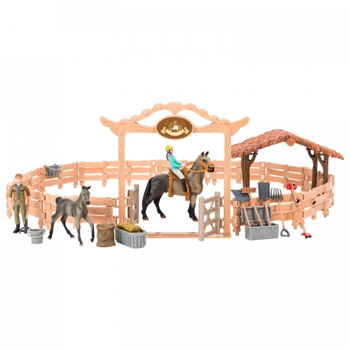 Купить Игровые фигурки, Masai Mara Набор фигурок животных Мир лошадей (20 предметов)