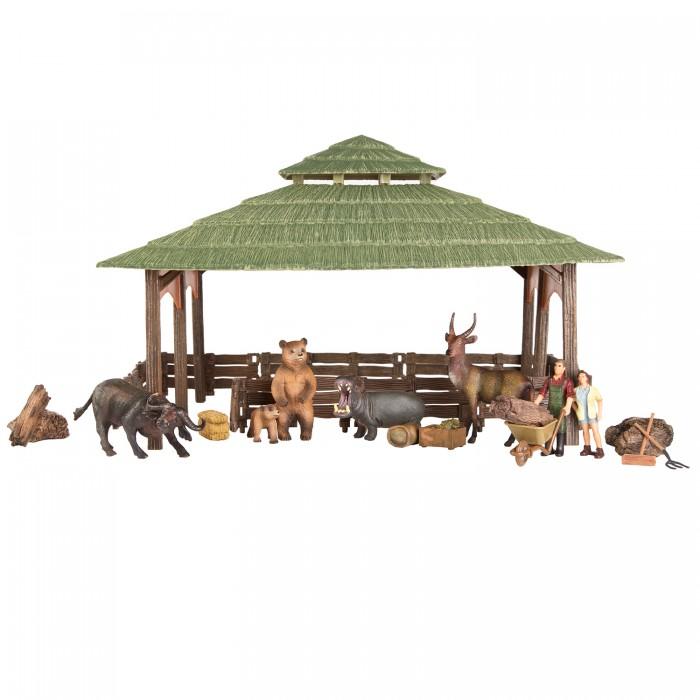 Купить Игровые наборы, Masai Mara Набор фигурок животных На ферме (21 предмет)