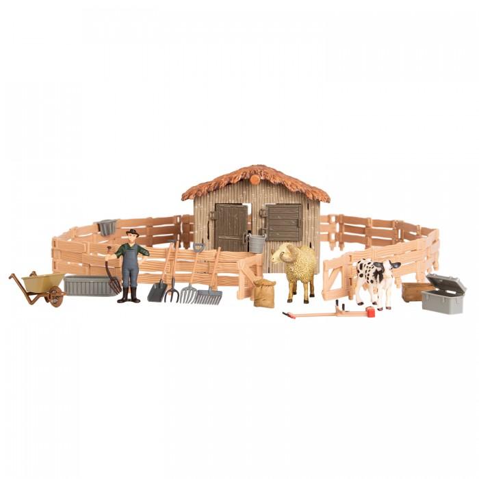 Купить Игровые наборы, Masai Mara Набор фигурок животных На ферме (17 предметов)