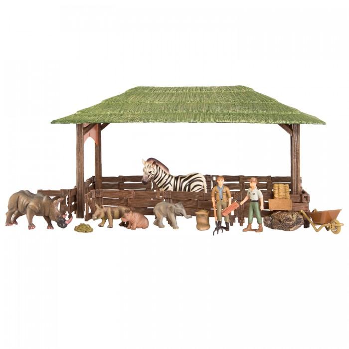 Купить Игровые наборы, Masai Mara Набор фигурок животных На ферме (21 предмет) ММ205-078