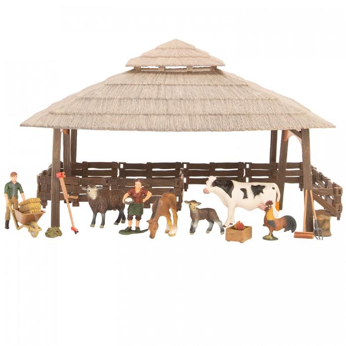 Купить Игровые наборы, Masai Mara Набор фигурок животных На ферме (21 предмет) ММ205-068