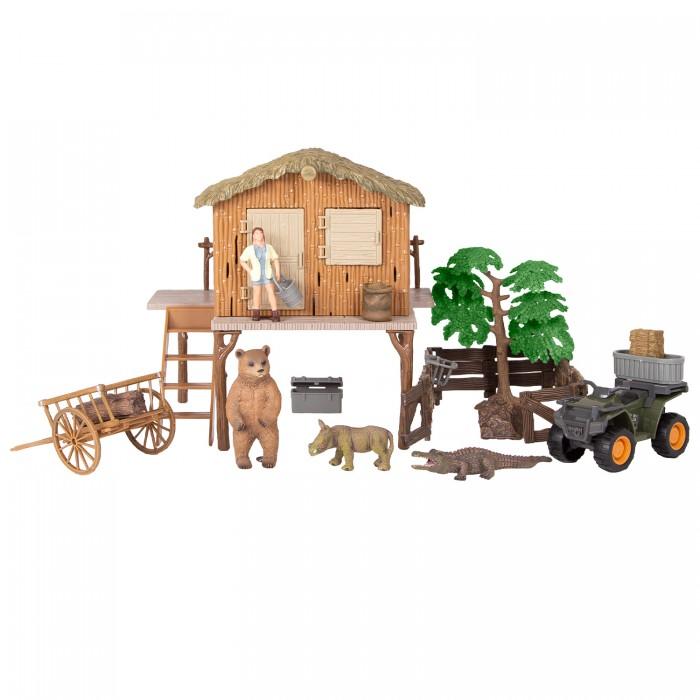 Купить Игровые наборы, Masai Mara Набор фигурок животных На ферме (17 предметов) ММ205-079