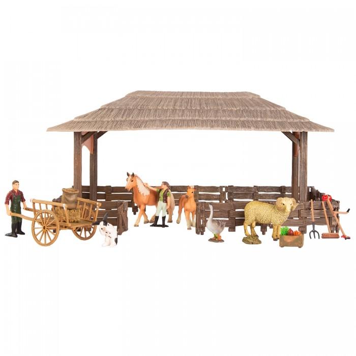 Купить Игровые наборы, Masai Mara Набор фигурок животных На ферме (20 предметов)