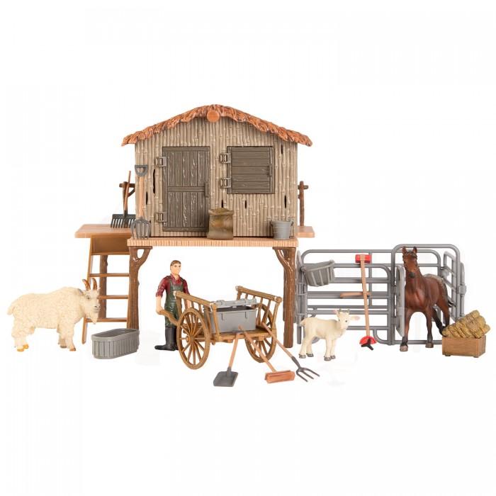 Купить Игровые наборы, Masai Mara Набор фигурок животных На ферме (21 предмет) ММ205-063