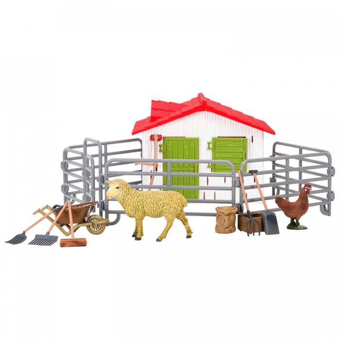 Купить Игровые наборы, Masai Mara Набор фигурок животных На ферме (14 предметов)