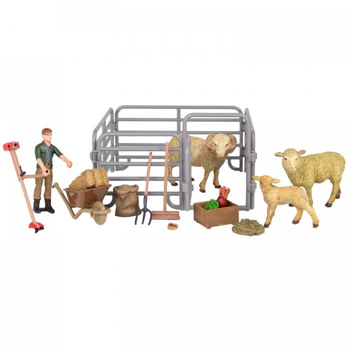 Купить Игровые наборы, Masai Mara Набор фигурок животных На ферме (17 предметов) ММ205-071