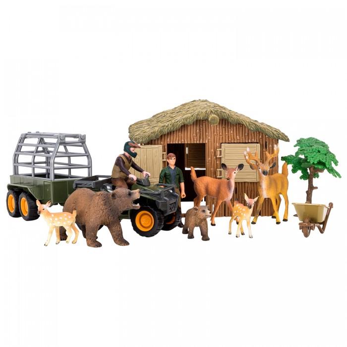 Купить Игровые наборы, Masai Mara Набор фигурок животных На ферме (14 предметов) ММ205-057