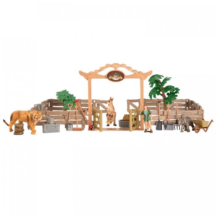 Купить Игровые наборы, Masai Mara Набор фигурок животных На ферме (20 предметов) ММ205-081