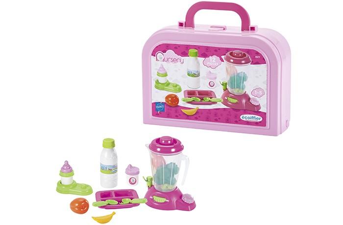 Ролевые игры Ecoiffier Игровой набор кормление малыша в чемоданчике