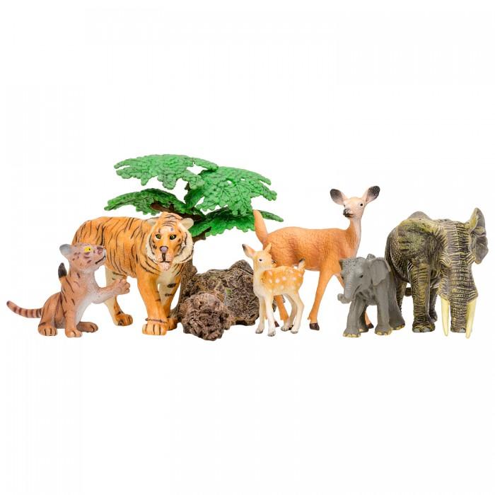 Купить Игровые фигурки, Masai Mara Набор фигурок Мир диких животных (9 предметов)