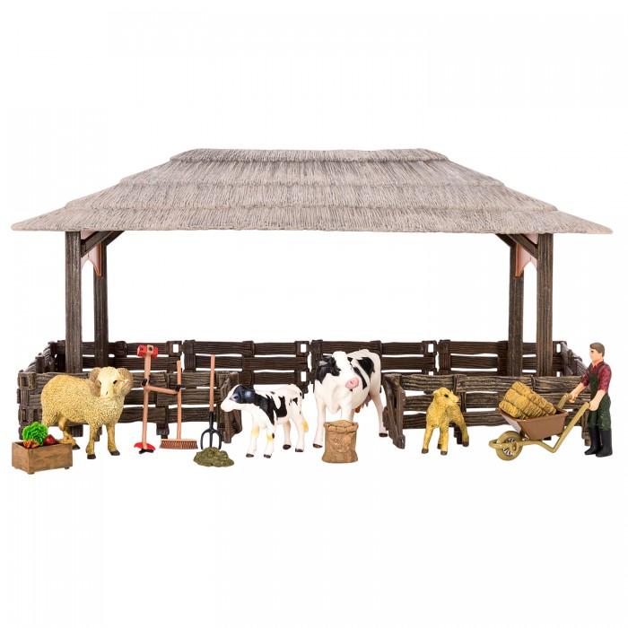 Купить Игровые наборы, Masai Mara Набор фигурок животных На ферме (19 предметов) ММ205-046