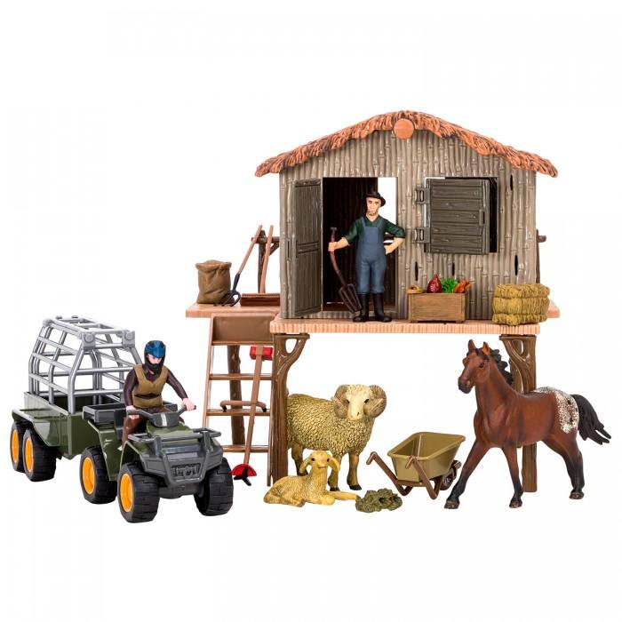 Купить Игровые наборы, Masai Mara Набор фигурок животных На ферме (22 предмета)