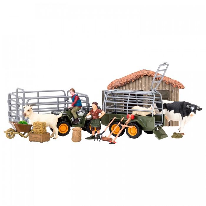 Купить Игровые наборы, Masai Mara Набор фигурок животных На ферме (22 предмета) ММ205-048