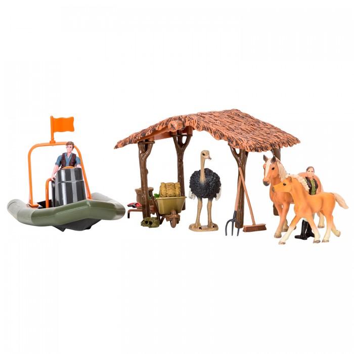 Игровые наборы, Masai Mara Набор фигурок животных На ферме (22 предмета) ММ205-049  - купить со скидкой