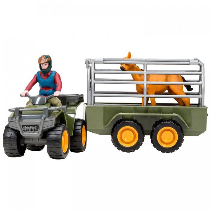 Купить Игровые фигурки, Masai Mara Набор фигурок На ферме Перевозка животных