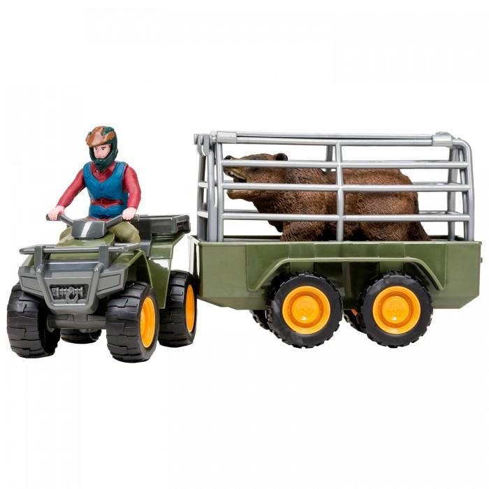 Купить Игровые фигурки, Masai Mara Набор фигурок На ферме Перевозка животных ММ205-021