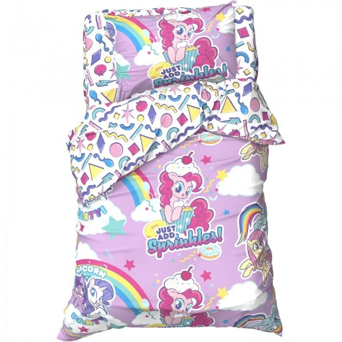 Постельное белье 1.5-спальное Май Литл Пони (My Little Pony) 1.5 спальное Candy clash (3 предмета)
