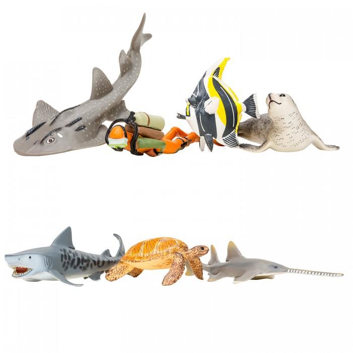 Купить Игровые фигурки, Masai Mara Фигурки игрушки Мир морских животных (6 предметов) ММ203-018