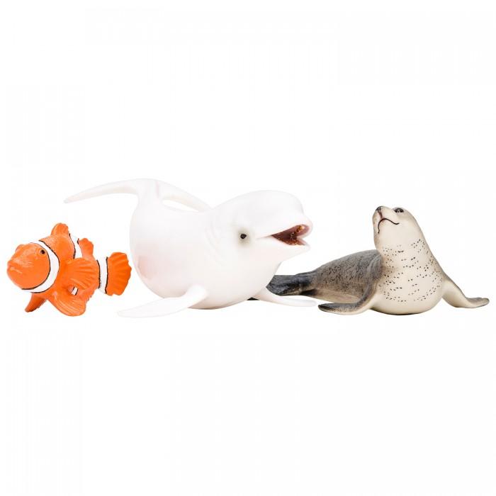 Купить Игровые фигурки, Masai Mara Фигурки игрушки Мир морских животных (3 предмета)