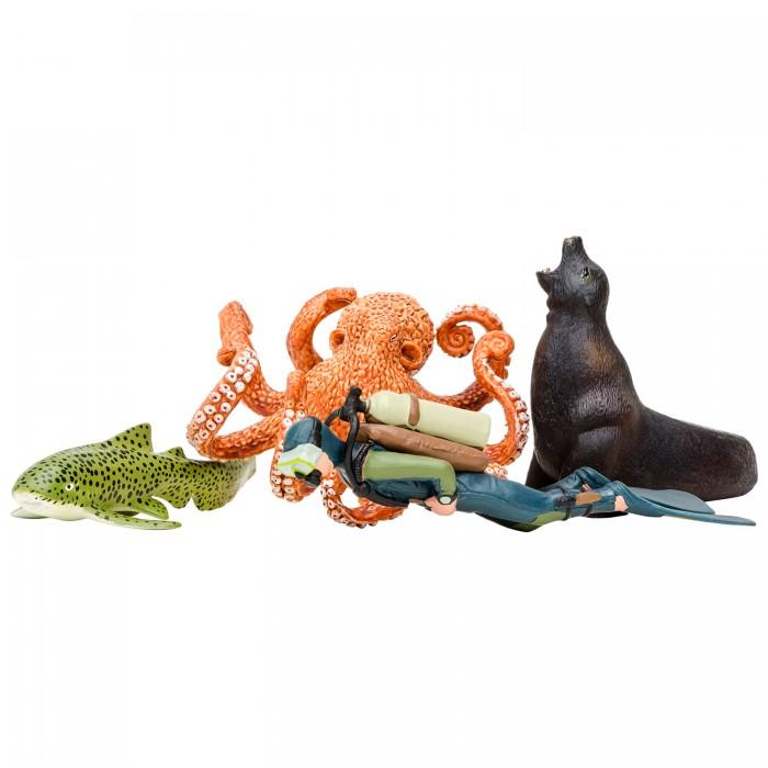 Купить Игровые фигурки, Masai Mara Фигурки игрушки Мир морских животных (4 предмета) ММ203-012