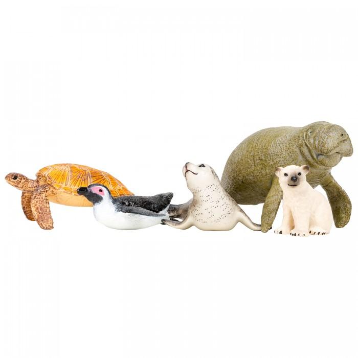 Купить Игровые фигурки, Masai Mara Фигурки игрушки Мир морских животных (5 предметов) ММ203-015