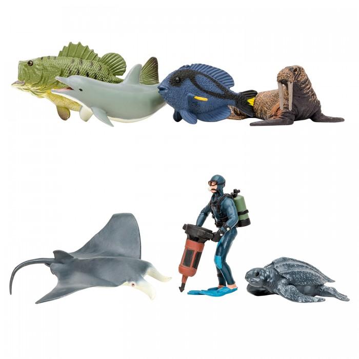 Купить Игровые фигурки, Masai Mara Фигурки игрушки Мир морских животных (7 предметов) ММ203-016
